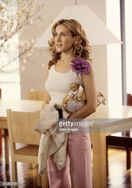 "Actress Sarah Jessica Parker Stars In The Comedy Series ""Sex And The City"" Now In Its Third Season."