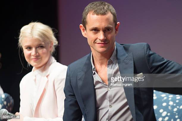 Actress Sarah Jones and actor Hugh Dancy speaks on stage during SCAD aTVfest 2016 Day1The Path at SCADShow Perfoming Arts Theater on February 4 2016...