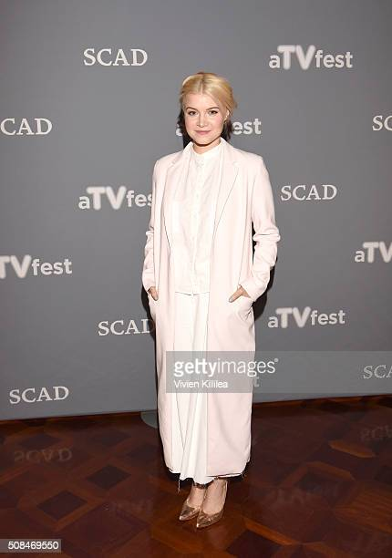 Actress Sarah Jones attends The Path event during aTVfest 2016 presented by SCAD on February 4 2016 in Atlanta Georgia