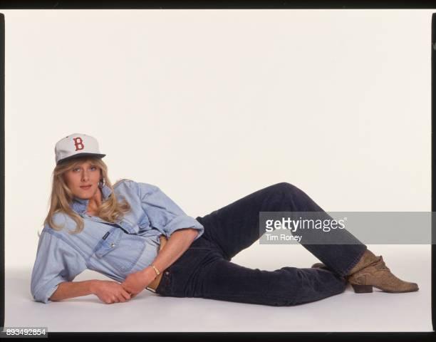 Actress Sarah Lancashire portrait United Kingdom 1995