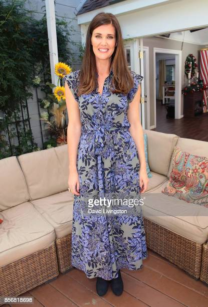 Actress Sarah Lancaster attends Hallmark's 'Home Family' at Universal Studios Hollywood on October 2 2017 in Universal City California