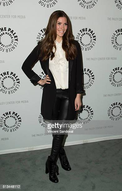 Actress Sarah Levy attends Paley Center For Media Presents PaleyLive LA An evening with Schitt's Creek at The Paley Center for Media on March 2 2016...