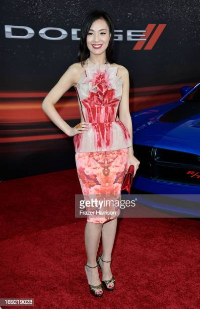 "Actress Sarah Li arrives at the Premiere Of Universal Pictures' ""Fast & Furious 6"" on May 21, 2013 in Universal City, California."