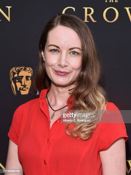Actress Sarah Lynn Dawson attends the BAFTALA Summer Garden Party at The British Residence on August 19 2018 in Los Angeles California