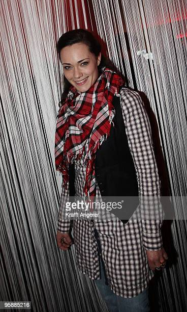 Actress Sarah Maria Besgen attends the 'Same Same But Different' premiere at the Cinemaxx on January 19 2010 in Hamburg Germany