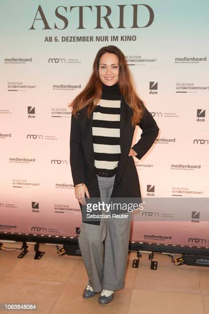 Actress Sarah Maria Besgen attends the special screening of the film 'Astrid' at Delphi Filmpalast on November 20, 2018 in Berlin, Germany.