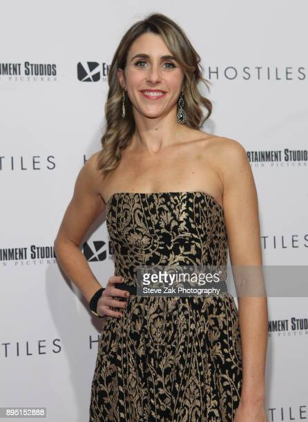 Actress Sarah Megan Thomas attends the 'Hostiles' New York Premiere at Metrograph on December 18 2017 in New York City