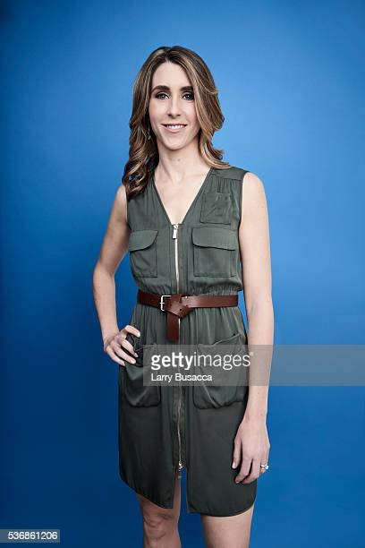 Actress Sarah Megan Thomas poses for a portrait at the Tribeca Film Festival on April 18 2016 in New York City
