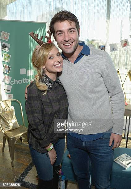 Actress Sarah Michelle Gellar and actor James Wolk attend 6th Annual Santa's Secret Workshop benefitting LA Family Housing at Andaz on December 3...
