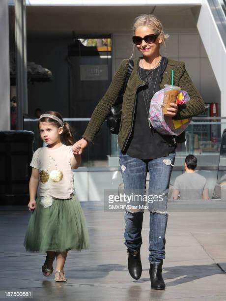 Actress Sarah Michelle Gellar and her daughter Charlotte Prinz are seen on November 9 2013 in Los Angeles California