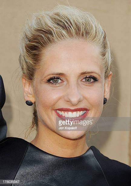 Actress Sarah Michelle Gellar arrives at the 2013 Television Critic Association's Summer Press Tour CBS The CW Showtime Party at The Beverly Hilton...