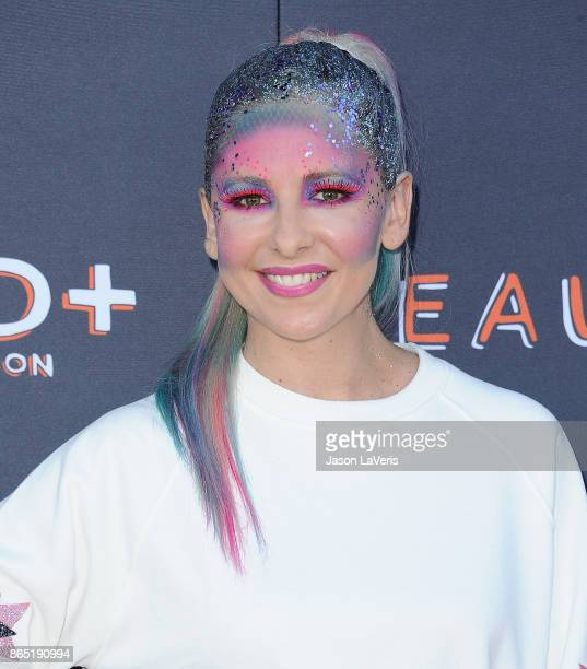 Actress Sarah Michelle Gellar attends the GOOD Foundation's 2nd annual Halloween Bash at Culver Studios on October 22 2017 in Culver City California