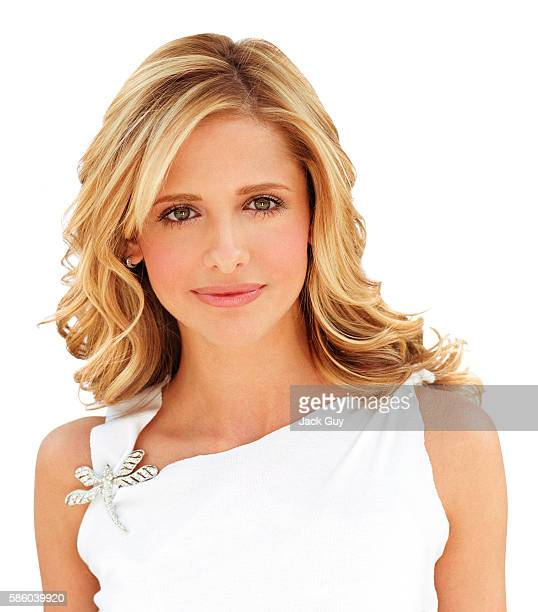 Actress Sarah Michelle Gellar is photographed for Cosmo Girl Magazine in 2002 in Los Angeles California