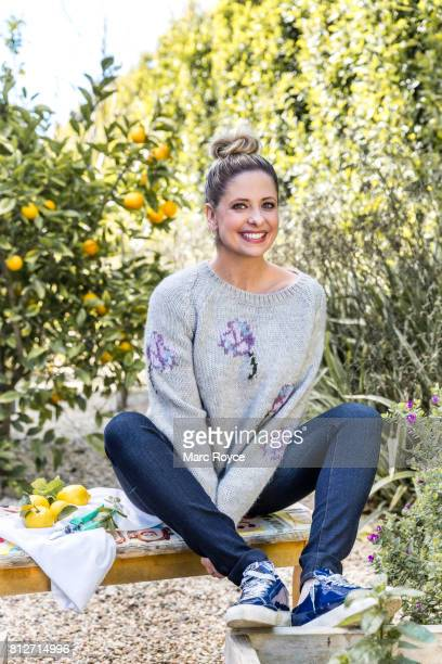 Actress Sarah Michelle Gellar is photographed for Us Weekly on February 23 2017 in Los Angeles California