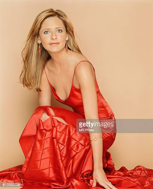 Actress Sarah Michelle Gellar is photographed Marie Claire Magazine US in 2004.