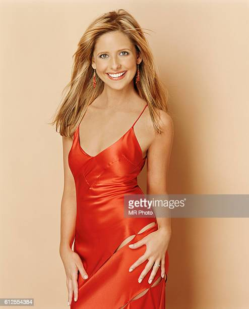 Actress Sarah Michelle Gellar is photographed Marie Claire Magazine US in 2004