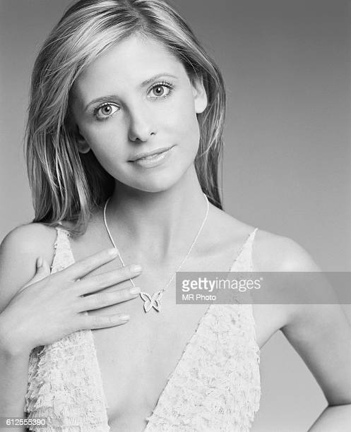 Actress Sarah Michelle Gellar is photographed Marie Claire Magazine US in 2004 PUBLISHED IMAGE