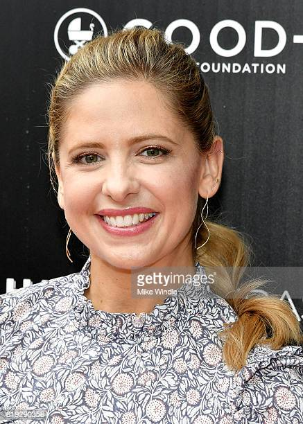 Actress Sarah Michelle Prinze attends the FirstEver GOOD Foundation Halloween Bash hosted Jessica Seinfeld at Sunset Gower Studios on October 30 2016...