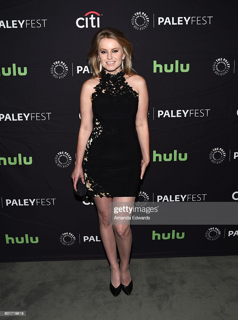 Actress Sarah Minnich arrives at The Paley Center for Media's PaleyFest 2016 Fall TV Preview of El Rey at The Paley Center for Media on September 9, 2016 in Beverly Hills, California.
