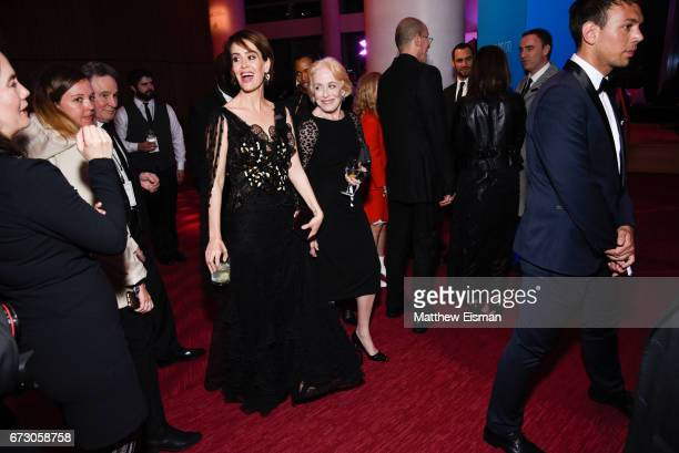 Actress Sarah Paulson and Holland Taylor attend 2017 Time 100 Gala at Frederick P Rose Hall Jazz at Lincoln Center on April 25 2017 in New York City