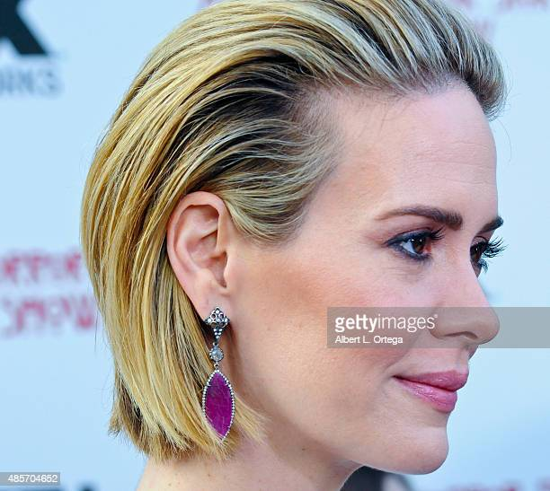 Actress Sarah Paulson arrives for FYC Special Screening And QA For FX's American Horror Story Freakshow held at Paramount Studios on June 11 2015 in...