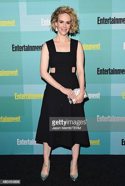 Actress Sarah Paulson attends Entertainment Weekly's ComicCon 2015 Party sponsored by HBO Honda Bud Light Lime and Bud Light Ritas at FLOAT at The...