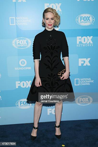 Actress Sarah Paulson attends the 2015 FOX programming presentation at Wollman Rink in Central Park on May 11 2015 in New York City
