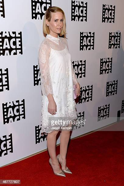 Actress Sarah Paulson attends the 64th Annual ACE Eddie Awards at The Beverly Hilton Hotel on February 7 2014 in Beverly Hills California