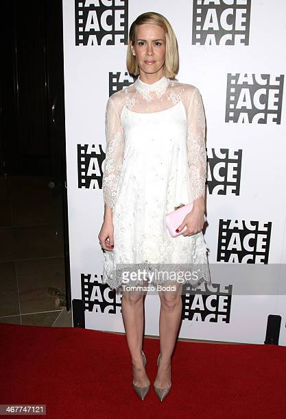 Actress Sarah Paulson attends the 64th Annual ACE Eddie Awards held at The Beverly Hilton Hotel on February 7 2014 in Beverly Hills California
