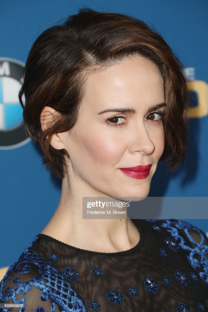 Actress Sarah Paulson attends the 69th Annual Directors Guild of America Awards at The Beverly Hilton Hotel on February 4, 2017 in Beverly Hills, California.