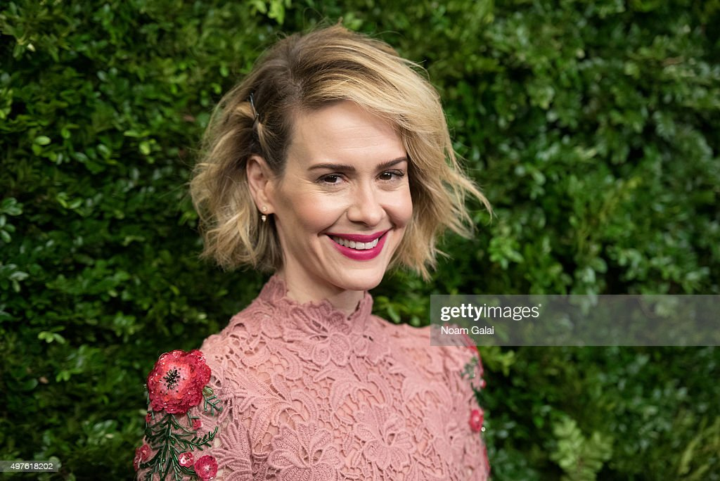 Actress Sarah Paulson attends the 8th Annual Museum Of Modern Art Film Benefit honoring Cate Blanchett at Museum of Modern Art on November 17, 2015 in New York City.