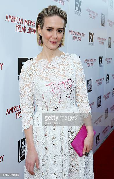 Actress Sarah Paulson attends the 'For Your Consideration' special screening and QA for FX's 'American Horror Story Freakshow' held at Paramount...