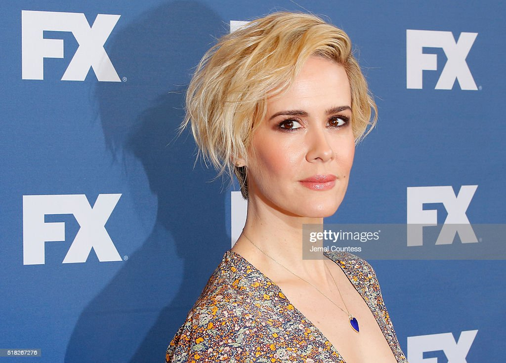 Actress Sarah Paulson attends the FX Networks Upfront Screening Of 'The People v. O.J. Simpson: American Crime Story' at AMC Empire 25 theater on March 30, 2016 in New York City.
