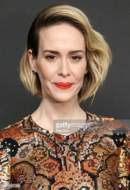 Actress Sarah Paulson attends the New York premiere of Carol at the Museum of Modern Art on November 16 2015 in New York City