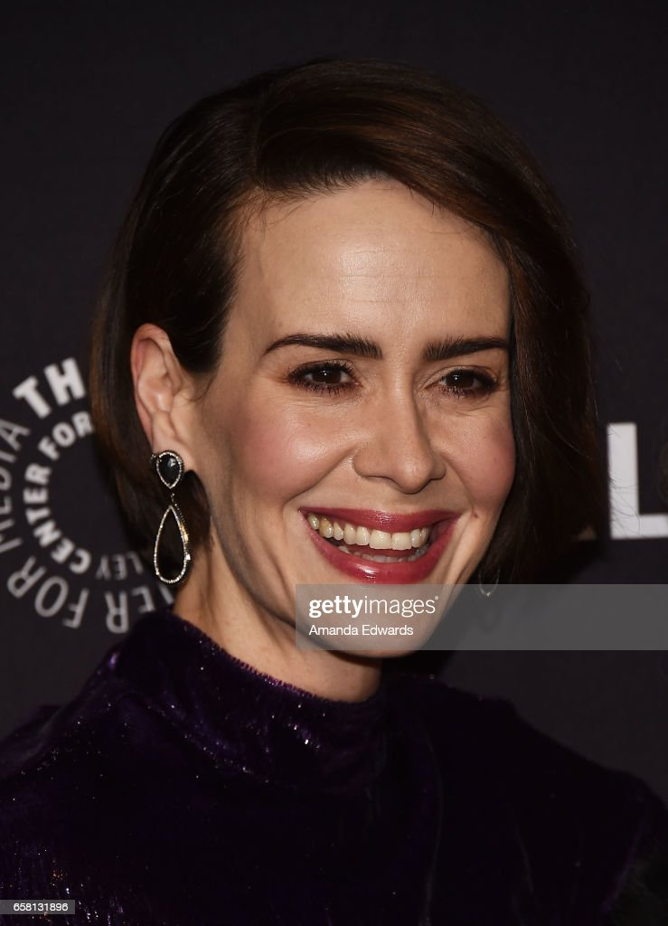 Actress Sarah Paulson attends The Paley Center For Media's 34th Annual PaleyFest Los Angeles - 'American Horror Story: Roanoke' screening and panel at the Dolby Theatre on March 26, 2017 in Hollywood, California.