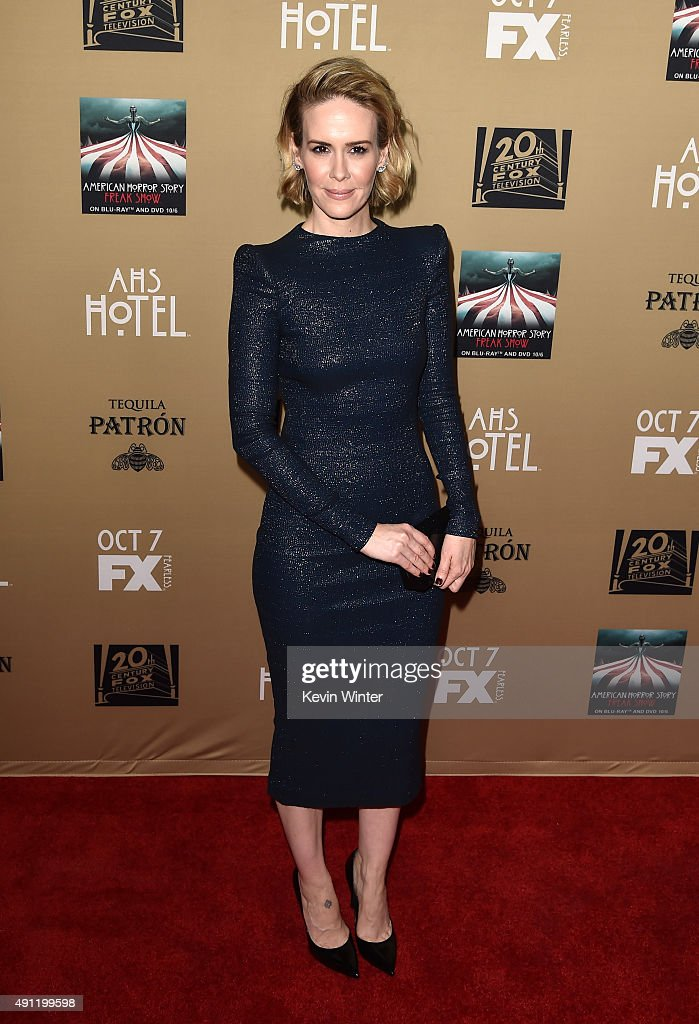 """Premiere Screening Of FX's """"American Horror Story: Hotel"""" - Arrivals : News Photo"""
