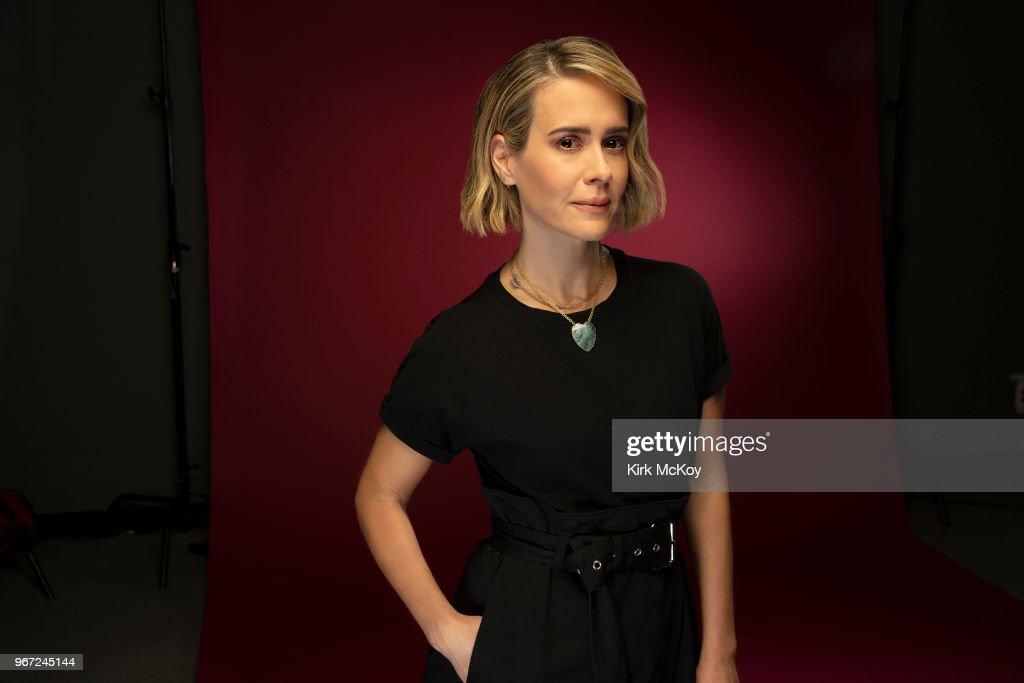 Sarah Paulson, Los Angeles Times, May 29, 2018 : News Photo
