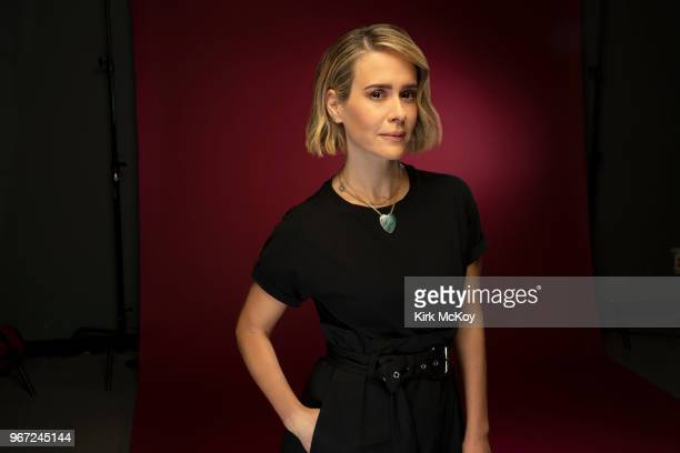 Actress Sarah Paulson is photographed for Los Angeles Times on May 24 2018 in Los Angeles California PUBLISHED IMAGE CREDIT MUST READ Kirk McKoy/Los...
