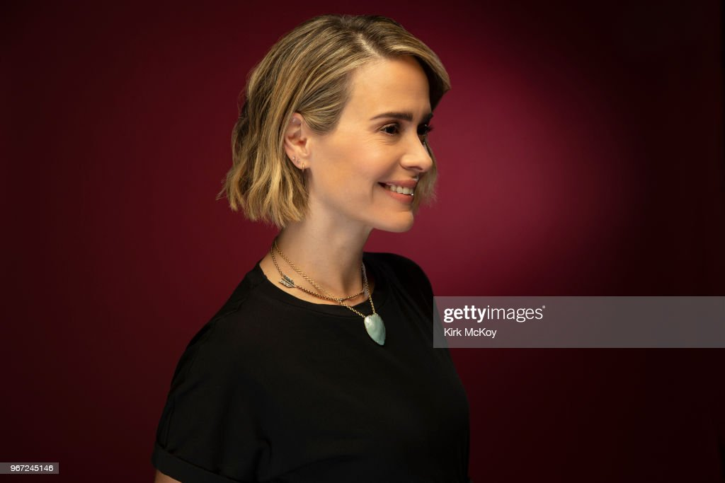 Sarah Paulson, Los Angeles Times, May 29, 2018