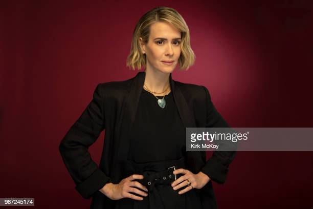 Actress Sarah Paulson is photographed for Los Angeles Times on May 24, 2018 in Los Angeles, California. PUBLISHED IMAGE. CREDIT MUST READ: Kirk...