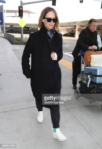 Actress Sarah Paulson is seen on January 2 2018 in Los Angeles CA