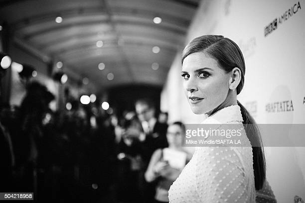 Actress Sarah Rafferty attends the BAFTA Los Angeles Awards Season Tea at Four Seasons Hotel Los Angeles at Beverly Hills on January 9 2016 in Los...