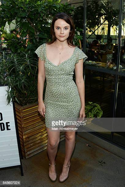 Actress Sarah Ramos attends the bando Poolside Party at The Line Hotel on July 8 2016 in Los Angeles California