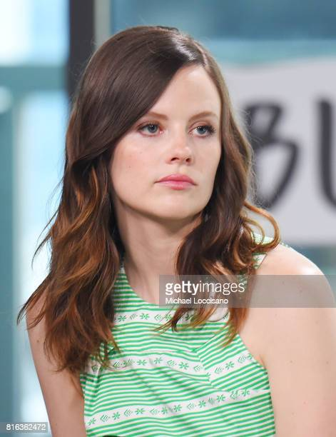 Actress Sarah Ramos visits the Build Series to discuss the new TV series Midnight Texas at Build Studio on July 17 2017 in New York City