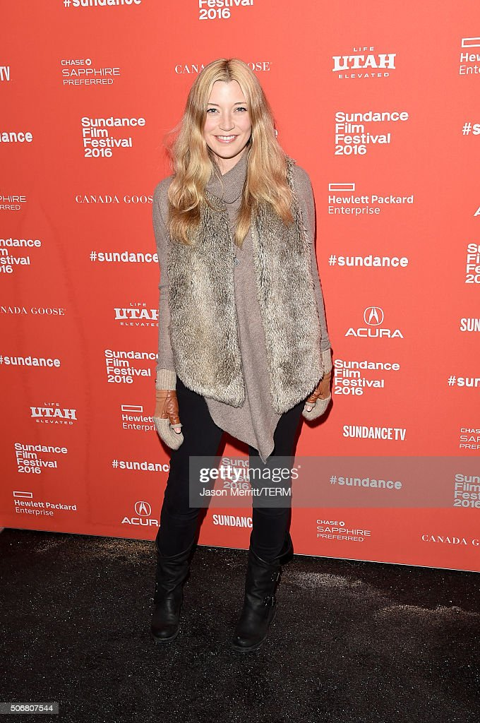 Actress Sarah Roemer attends the 'Outlaws & Angels' Premiere during the 2016 Sundance Film Festival at Library Center Theater on January 25, 2016 in Park City, Utah.
