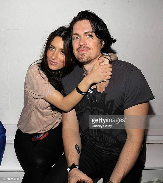 Actress Sarah Shahi and actor Steve Howey attend the Jeep MAXIM and Call of Duty Black Ops Celebration of The 2010 Maximum Warrior at Supperclub Los...