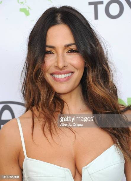 Actress Sarah Shahi arrives for the 28th Annual EMA Awards Ceremony held at Montage Beverly Hills on May 22 2018 in Beverly Hills California