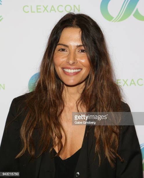 Actress Sarah Shahi attends the Cocktails for Change fundraiser hosted by ClexaCon to benefit Cyndi Lauper's True Colors Fund at the Tropicana Las...