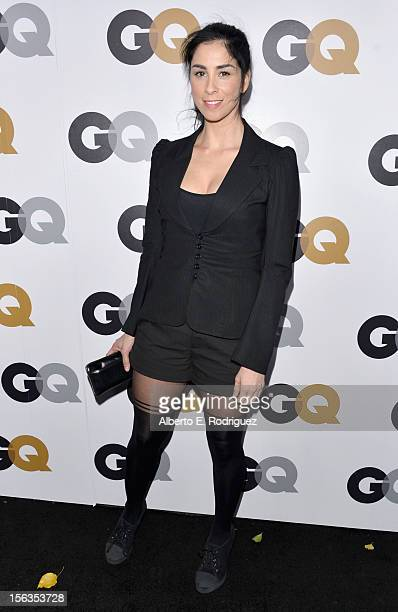 Actress Sarah Silverman arrives at the GQ Men of the Year Party at Chateau Marmont on November 13 2012 in Los Angeles California
