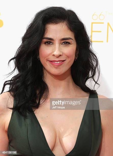 Actress Sarah Silverman attends the 66th Annual Primetime Emmy Awards held at Nokia Theatre LA Live on August 25 2014 in Los Angeles California